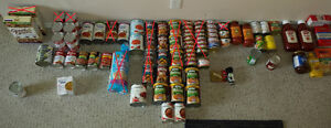 Canned Food Items + Miscellaneous Food Items