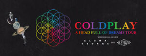 2 COLDPLAY TICKETS @ BC PLACE - FRIDAY SEP 29