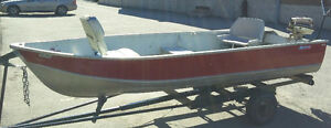 BOAT/TRAILER/MOTOR/CHALOUPE/REMORQUE/MOTEUR