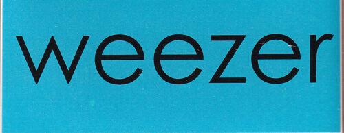 Weezer The Green Album RARE promo sticker 2001