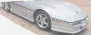 GROUND EFFECTS PACKAGE FOR A C-4 CORVETTE