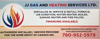 Furnace, water heater, fireplace, garage heater,repair& install