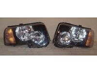 Left hand drive European headlights Freelander I facelift 2004 2005 2006 LHD