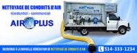 16$-18$ - Recherche travailleur pour nettoyage de conduits d'air