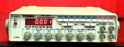 Tenma 72-5015 10001076 2mhz Sweep Function Generator