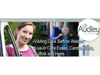 Become a Visiting Carer with us and earn while you learn