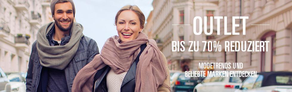 Outlet: Fashion bis zu 80%* reduziert