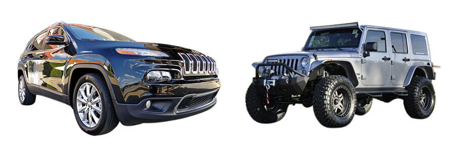jeep cherokee vs jeep wrangler ebay. Black Bedroom Furniture Sets. Home Design Ideas