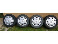 Car Steel Wheels and Wheel Trims Corsa C