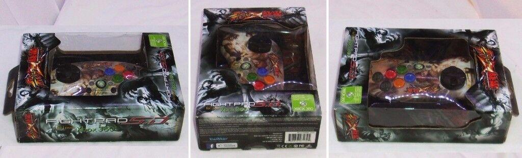 Mad Catz Street Fighter X Tekken FightPad Xbox 360