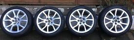 VW/Audi 18inch alloy wheels and tyres