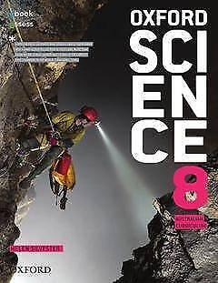 Oxford Science 8 Australian Curriculum Student Book + obook asses