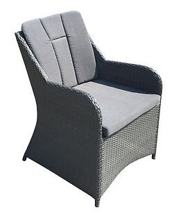 OUTDOOR VICTORIA HIGH BACK TUB CHAIR – GRAPHITE Alexandria Inner Sydney Preview