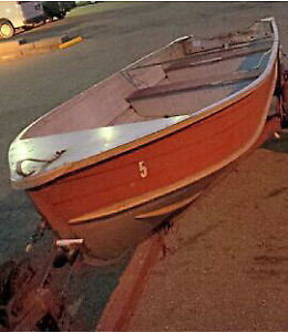 14ft aluminum boat with trailer