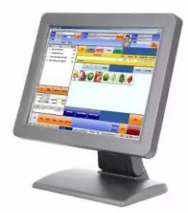 Optimuz 910M 15 Pos Touch Screen LCD (metal case) starting at $350.