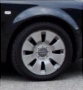 OEM Audi Wheels with summer and extra set of winter tires