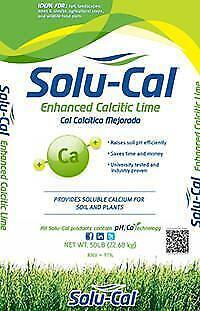 Solu-Cal Premium Enhanced Lime (50 LB) - 50 LB BAG