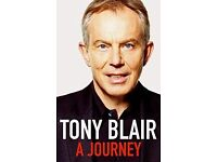 """A Journey"" by Tony Blair"
