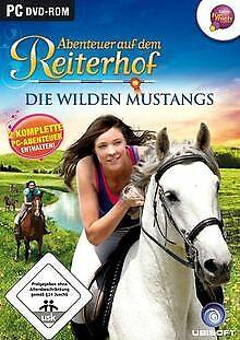 Abenteuer auf dem Reiterhof: Die wilden Mustangs von Ubi... | Game | Zustand gut