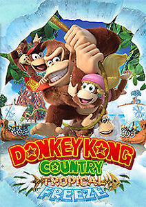 Donkey Kong Tropical Freeze / Mario Party for SWITCH