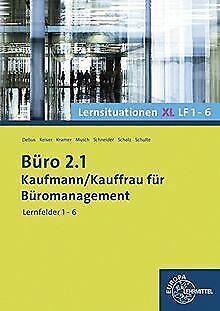 Büro 2.1 Kaufmann/Kauffrau für Büromanagement: Le... | Buch | Zustand akzeptabel