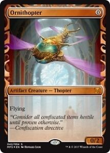 4x Masterpiece Ornithopters