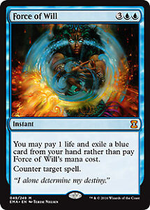 Force of Will , Magic the Gathering , at www.Topdeckhero.com