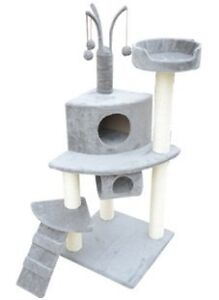 """SILVER SENSATION 47"""" CAT TREE ON SALE, HST & FREE SHIP INCLUDED"""