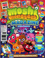 Moshi Monsters Magazine Issues #1-16, #18-22