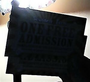 2-Saunders Farm-RIP Admission (Front of the Line)