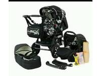 Merc s6 pram & all accessories