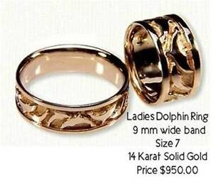 Beautiful Dolphin Ring