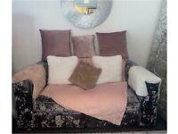 Sofology Crushed Velvet sofa 4 + 2