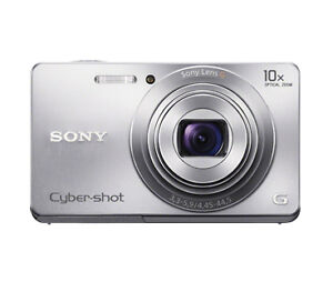 New-Sony-Cyber-shot-W690-16-1-Megapixel-10x-Optical-Zoom-Digital-Camera-DSCW690
