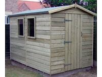 shed - brand new 8x5 £582 - other styles & sizes available