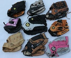 9 junior youth baseball T-Ball glove gloves fit left hand From