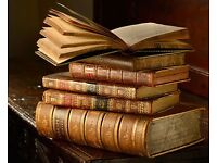 Old Books Wanted BY Collector Bibles Non Fiction & Fiction - Older The Better - Cash Waiting