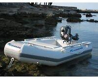 Gommone Gommoni Barca Barche Tender Battello Viamare 250 Mare Lago Pesca Remi -  - ebay.it