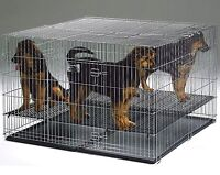 Heavy duty floor grid for dog/cat cage