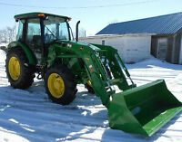 Custom Farming: Snow Plowing, Rototilling, Mowing, Cultivating