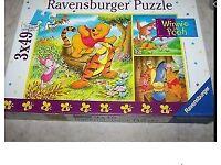 Ravensburger Three-in-a box Winnie the Pooh jigsaw puzzles