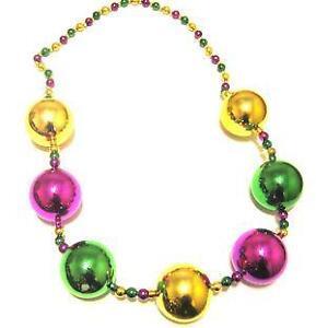 Large Mardi Gras Beads