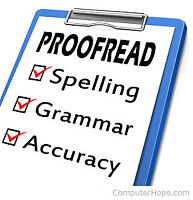 Expert Proofreading and Editorial Services