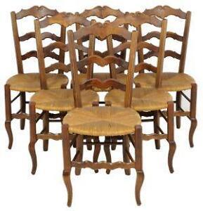 antique oak dining set