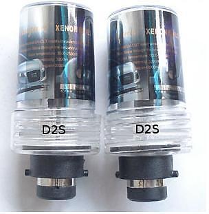 Lexus LS430 2006 - 2004 HID Xenon Bulbs D2S 8000K 12V 35W 2 Headlight Lamps Blue