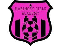 Girls Football Academy Coach Wanted