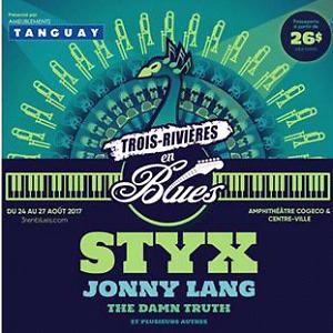 Recherche 2 billets STYX Trois-Rivières Blues
