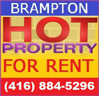 BRAMPTON HOMES FOR RENT