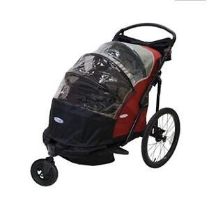 Remorque chariot vélo/poussette 2 place InStep 2 attaches vélo