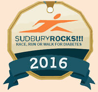 Recruiting Volunteers for the Sudbury Rocks!!! Race for Diabetes